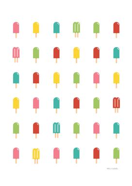 Popsicle Pattern - Retro #754