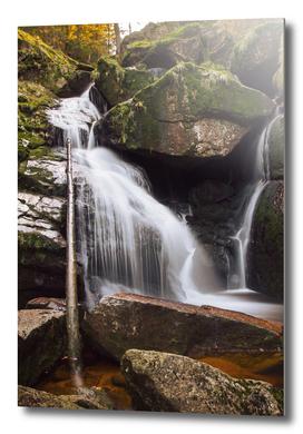 Black Stream Waterfall