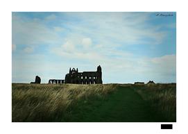 Whitby Abbey Gothic Landscape