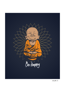 Be Happy Little Buddha