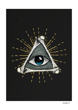 The Eye of God - illuminati Eye Symbol