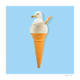 Seagull ice cream