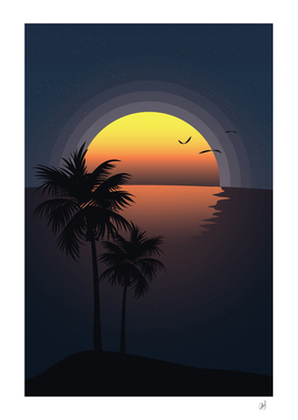 A Tropical Sunset