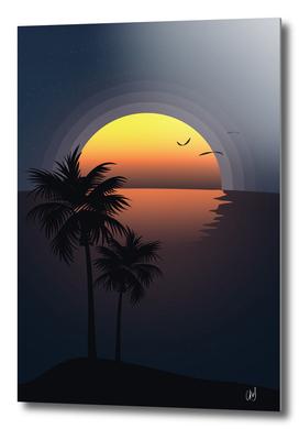 A Tropical Sunset