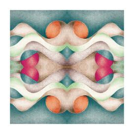 Abstract Air – Retro Green