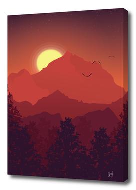 A Warm Sunset