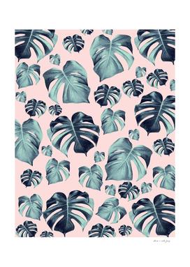 Tropical Monstera Pattern #1 #tropical #decor #art