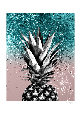 Pineapple Tropical Summer Vibes Glitter Glam #1 #tropical
