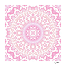Frosted Pink Mandala