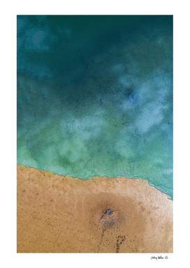 Blue Ocean Shoreline