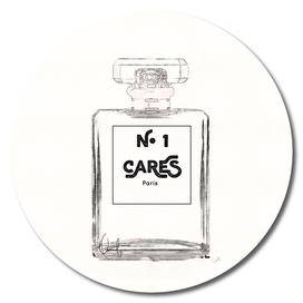 N.1 Cares Perfume Bottle - Black & White