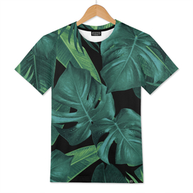 Tropical Summer Night Jungle Leaves Dream #1 #tropical