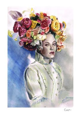 Beyonce in floral