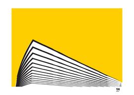 yellow minimal scandinavian modern
