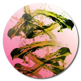 Kiwi Chaos - Modern Abstract Expressionsim