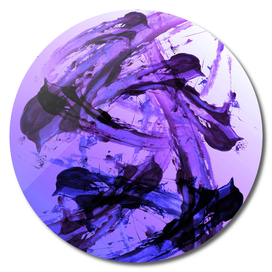 Vicious Violet - Modern Abstract Expressionsim