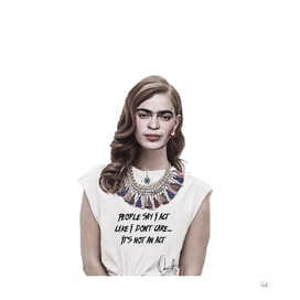Frida Never Acts