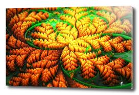Autumn's Golden Carpet