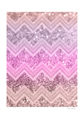 Unicorn Glitter Chevron #2 #shiny #decor #art