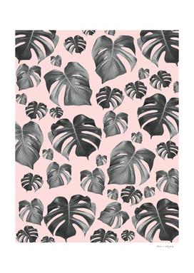 Tropical Monstera Pattern #6 #tropical #decor #art