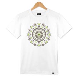 Heart Mandala – Green