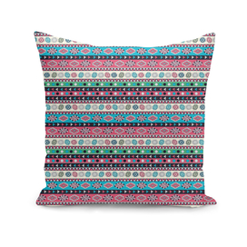 Abstract Ethnic pattern in vivid colors.