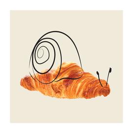 croissant snail