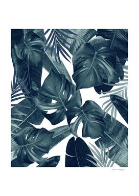Tropical Summer Jungle Leaves Dream #4 #tropical #decor #art