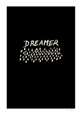 DREAMER #1 #typo #drawing #decor #art