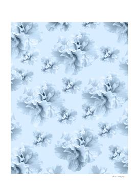 Light Blue Azalea Flower Dream #1 #floral #pattern #decor
