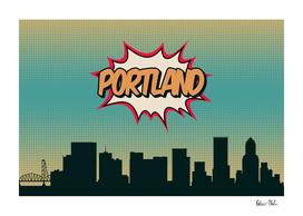 Portland Pop Skyline