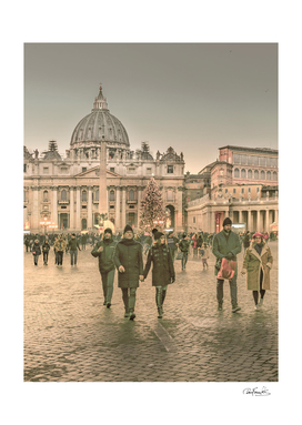 Conciliazione Street, Rome, Italy