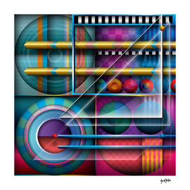 J Series 114 Abstract Geometric Gesign