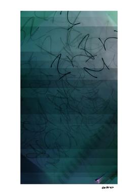 Mellow Melody - Digital Glitch Artwork