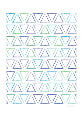 Triangular Peaks Pattern - Peacock #155