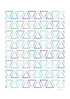 Triangular Peaks Pattern - Peacock #155