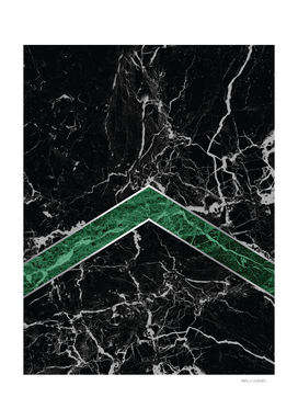 Arrows - Black Granite & Green Granite #269