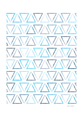 Triangular Peaks Pattern - Ocean #716