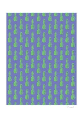 Pineapple Pattern - Purple & Green #352