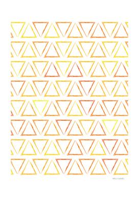 Triangular Peaks Pattern - Sunshine #913