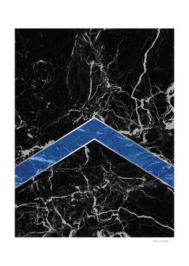 Arrows - Black Granite & Blue Granite #595