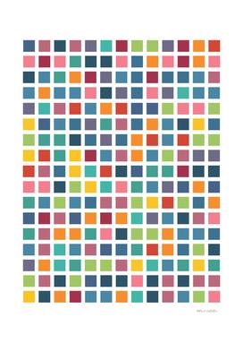 City Blocks - Subtle Rainbow #453