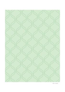 Double Helix - Light Greens #769