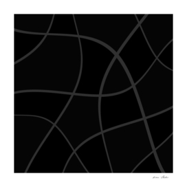 Abstract  pattern - black.