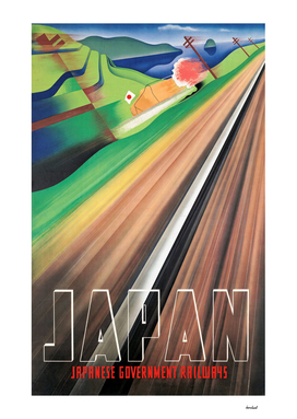 Japanese Government Railways Poster