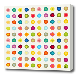 Vintage and Colourful Circles