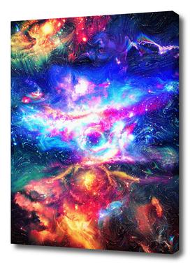 🌌 Colorful Galaxy