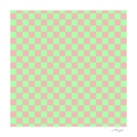 Checkered Squares Pattern I