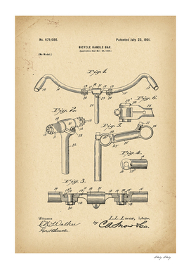 1900 Patent Velocipede Bicycle history invention