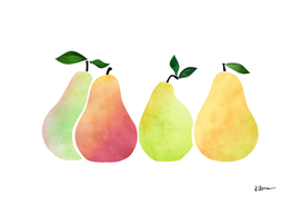Fresh Summer Pears